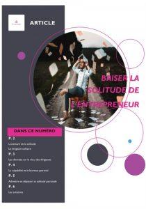 Stratellas - La solitude de l'entrepreneur - entrepreneurs - personne en reconversion